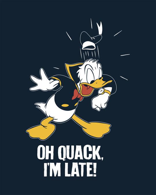 Shop Quack I'm Late Boyfriend T-Shirt (DL)