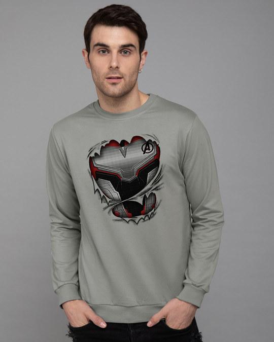 Shop Quantum Suit Fleece Sweater (AVEGL)-Front