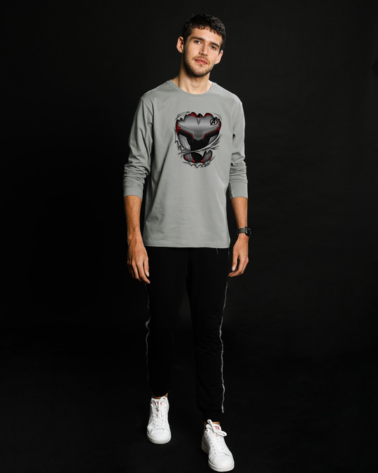 Shop Quantum Suit Full Sleeve T-Shirt (AVEGL)-Design