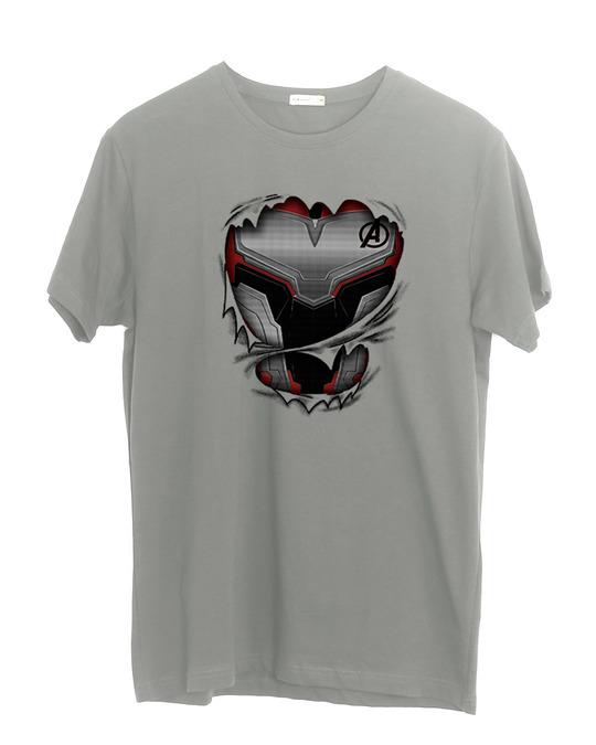 Shop Quantum Suit Half Sleeve T-Shirt (AVEGL)-Front