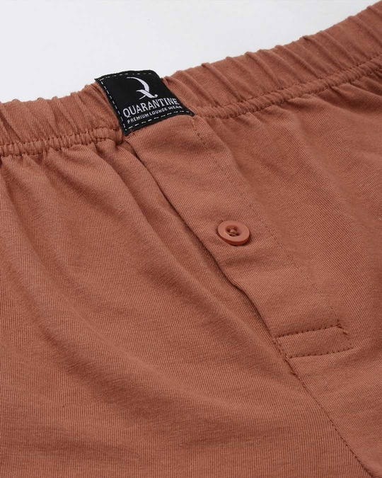 Shop Brown Solid Boxer-Full