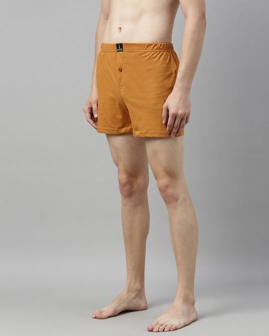 Shop Brown Solid Boxer-Design