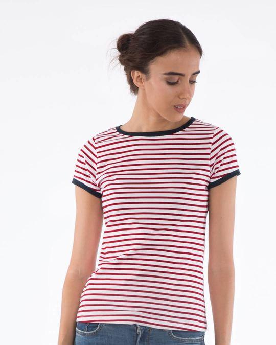 striped t shirt womens india