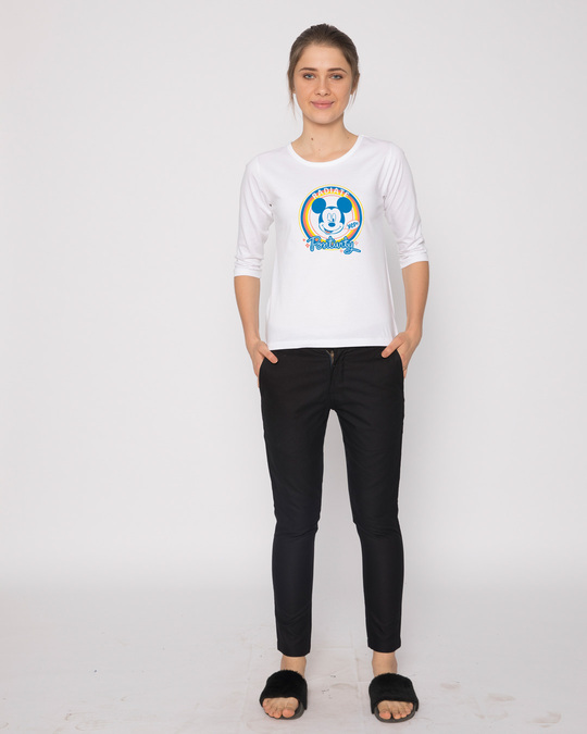 Shop Radiate Positivity Round Neck 3/4th Sleeve T-Shirt (DL)-Design