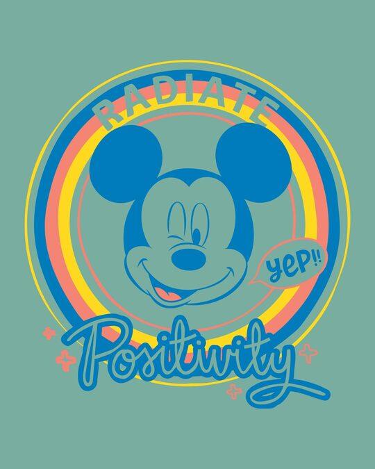 Shop Radiate Positivity Scoop Neck Full Sleeve T-Shirt (DL)-Full