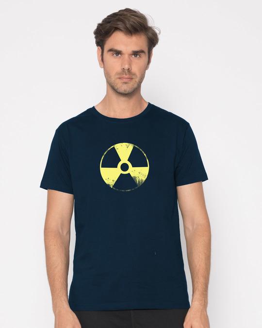 Shop Radioactive Half Sleeve T-Shirt-Back