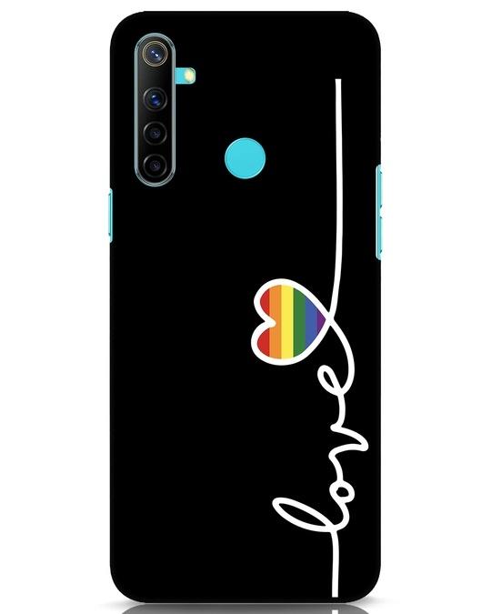 Shop Rainbow Love Realme Narzo 10 Mobile Cover-Front