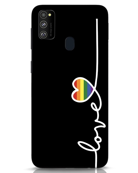 Shop Rainbow Love Samsung Galaxy M30s Mobile Cover-Front