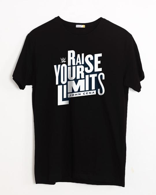 Shop Raise Your Limits Half Sleeve T-Shirt (WWEL)-Front