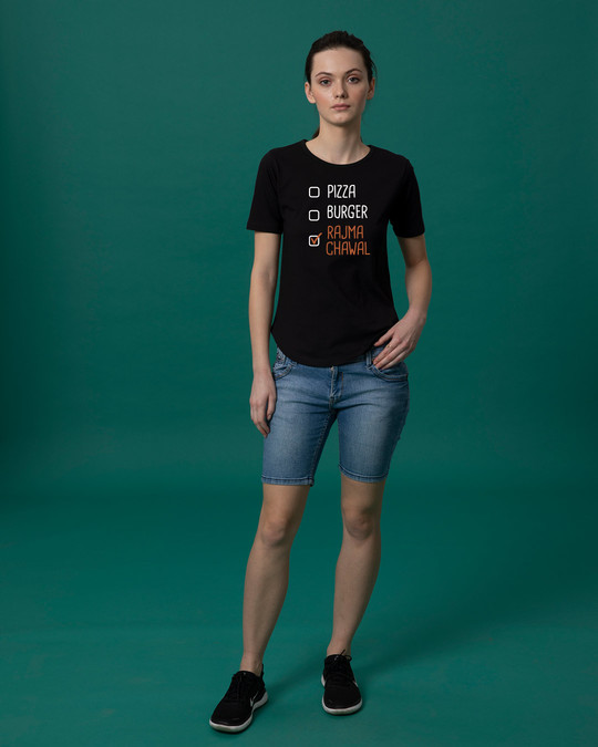 Shop Rajma Chawal Basic Round Hem T-Shirt
