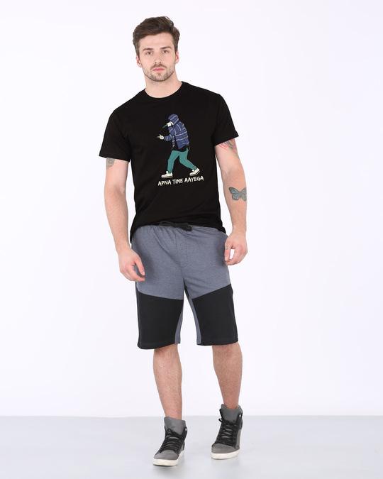 Shop Rap Battle Half Sleeve T-Shirt