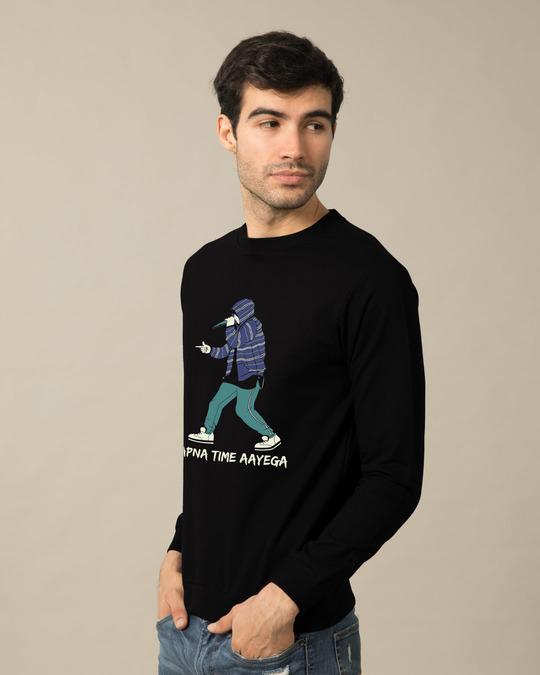 Shop Rap Battle Sweatshirt-Back