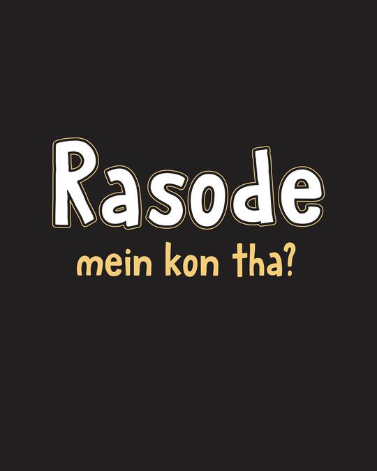 Shop Rasode Me Kon Tha Full Sleeve T-Shirt Black-Full
