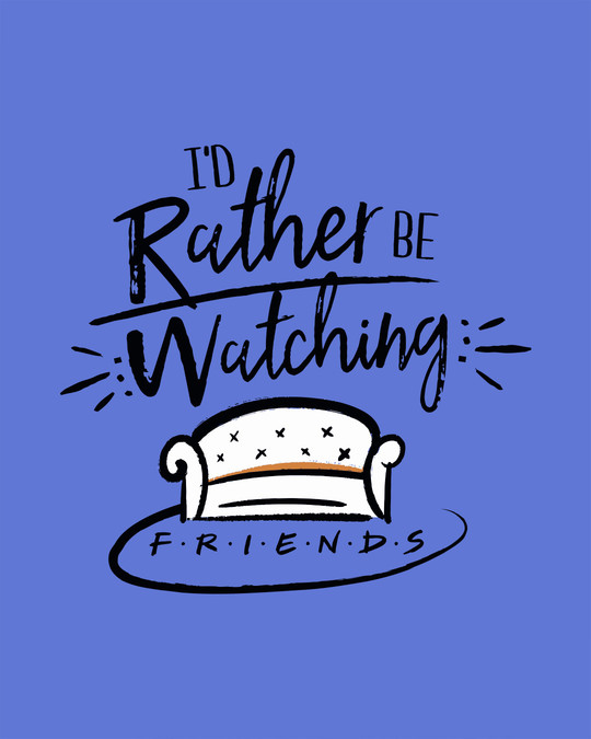 Shop Rather Be Watching Friends Vest (FRL)-Full