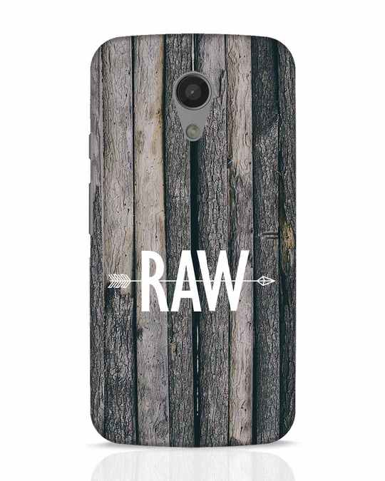 best loved 34d86 3d9b3 Raw Moto G2 Mobile Cover