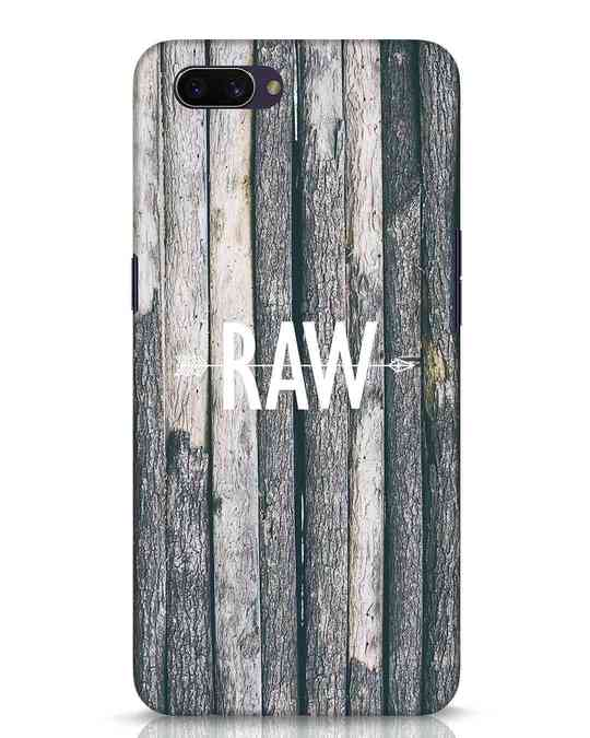 Shop Raw Oppo A3S Mobile Cover-Front