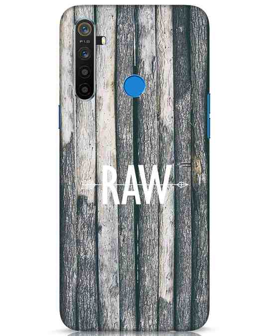 Shop Raw Realme 5 Mobile Cover-Front