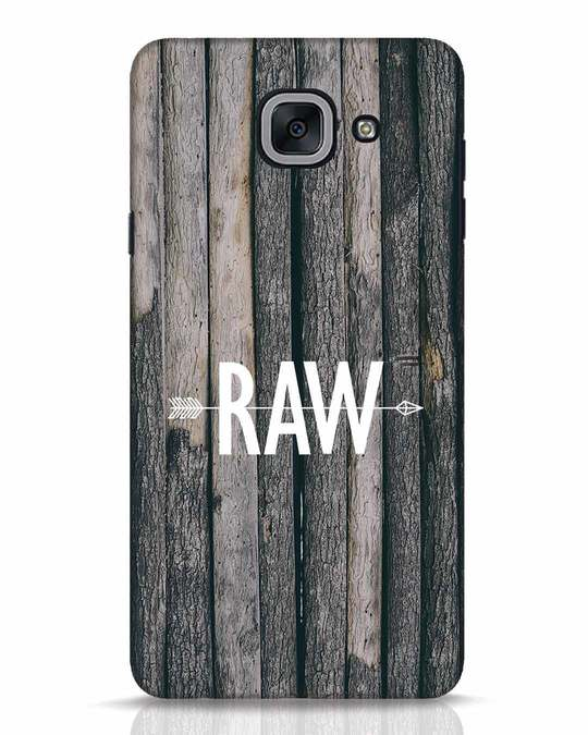 Shop Raw Samsung Galaxy J7 Max Mobile Cover-Front