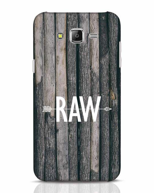 Shop Raw Samsung Galaxy J7 Mobile Cover-Front