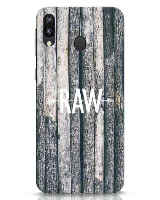 Shop Raw Samsung Galaxy M20 Mobile Cover-Front