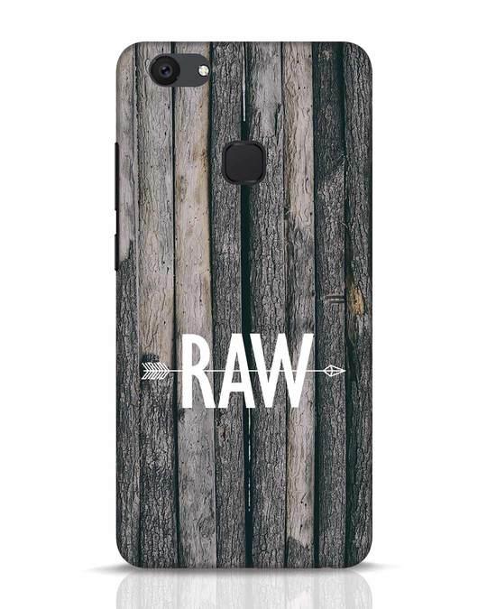 Shop Raw Vivo V7 Plus Mobile Cover-Front
