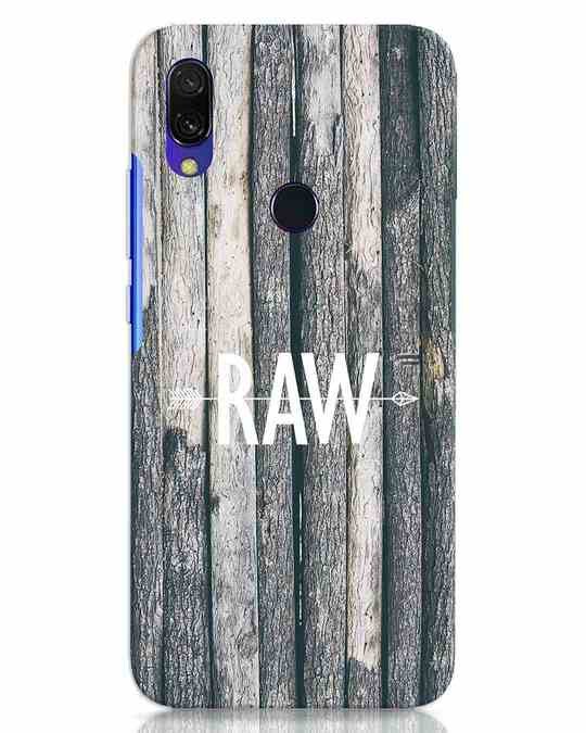 Shop Raw Xiaomi Redmi 7 Mobile Cover-Front