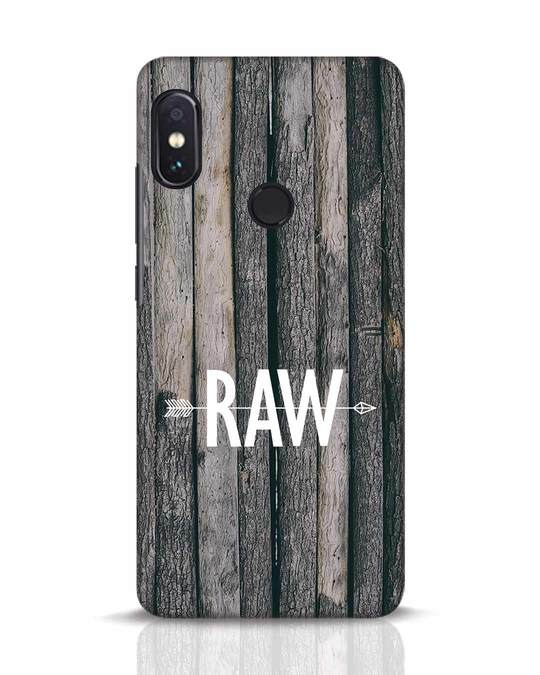 Shop Raw Xiaomi Redmi Note 5 Pro Mobile Cover-Front
