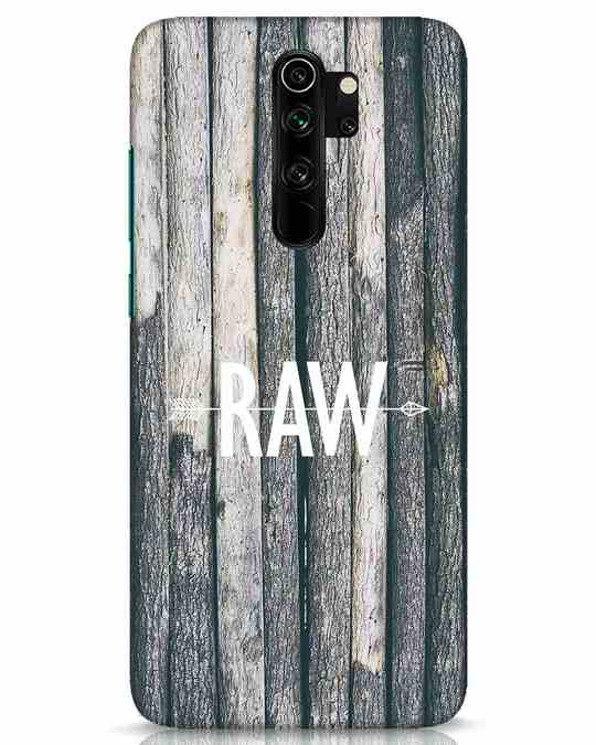 Shop Raw Xiaomi Redmi Note 8 Pro Mobile Cover-Front