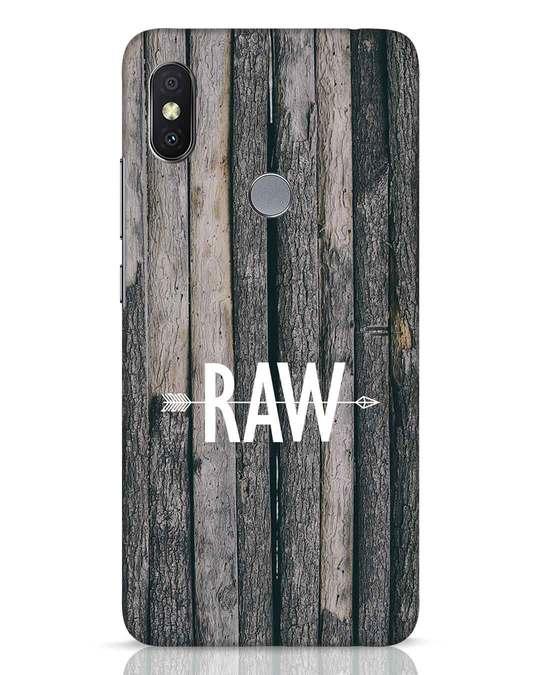 Shop Raw Xiaomi Redmi Y2 Mobile Cover-Front