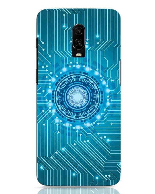 Shop Reactor OnePlus 6T Mobile Cover-Front