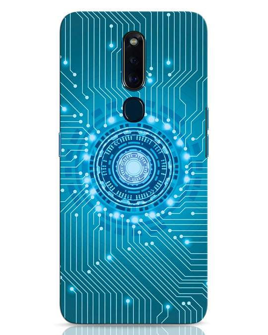 Shop Reactor Oppo F11 Pro Mobile Cover-Front