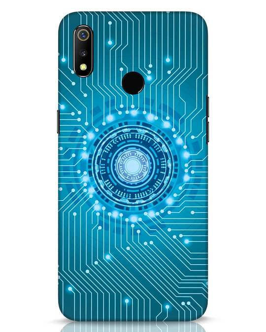 Shop Reactor Realme 3 Mobile Cover-Front