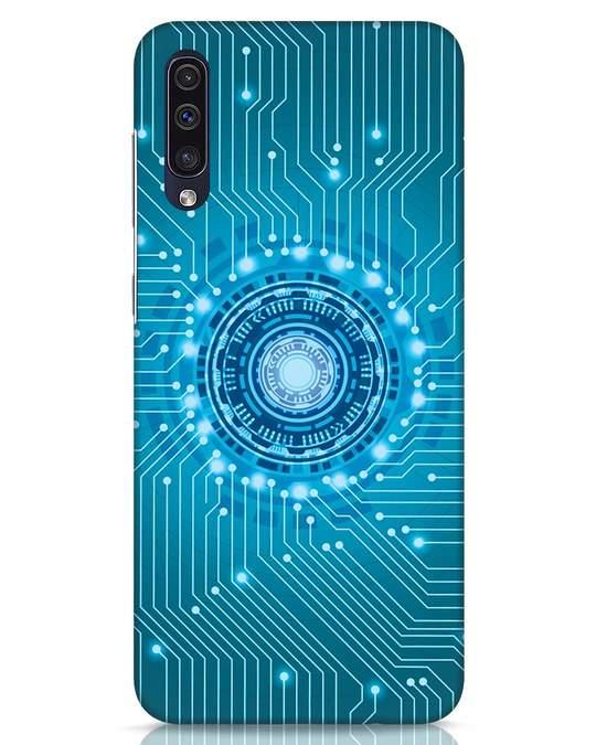 Shop Reactor Samsung Galaxy A50 Mobile Cover-Front