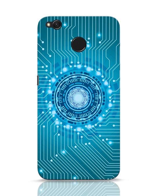 Shop Reactor Xiaomi Redmi 4 Mobile Cover-Front