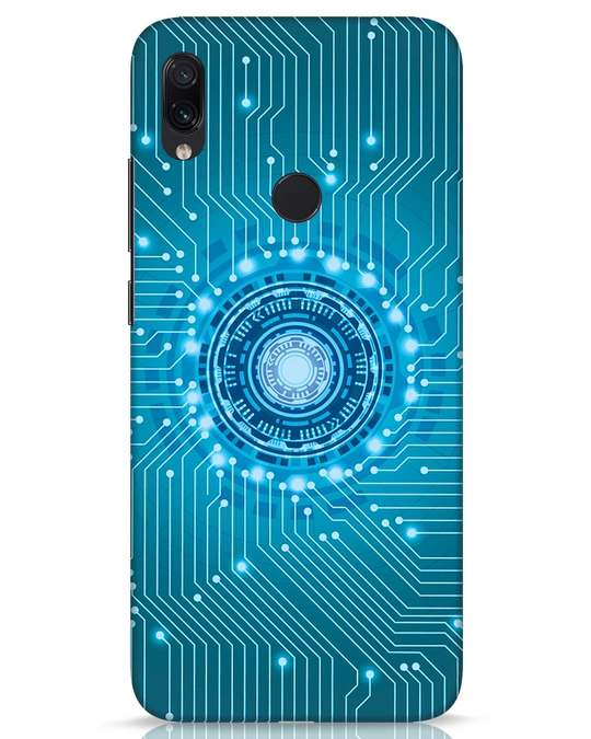 Shop Reactor Xiaomi Redmi Note 7s Mobile Cover-Front