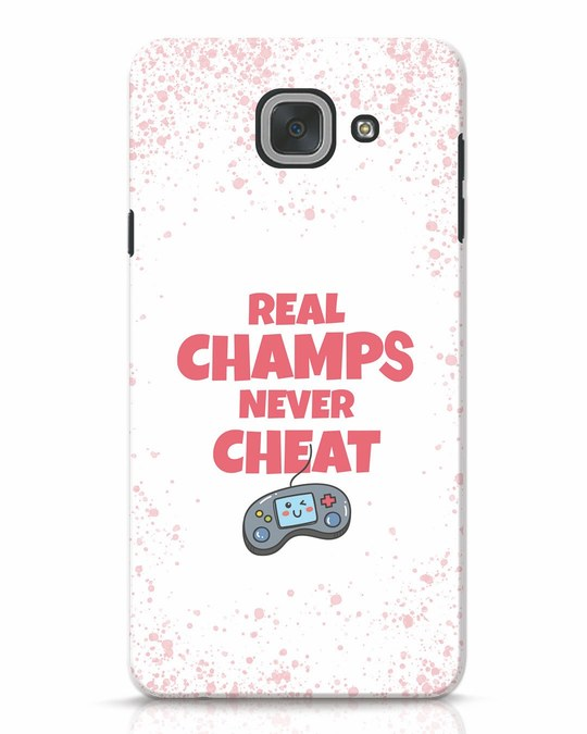 Shop Real Champs Samsung Galaxy J7 Max Mobile Cover-Front