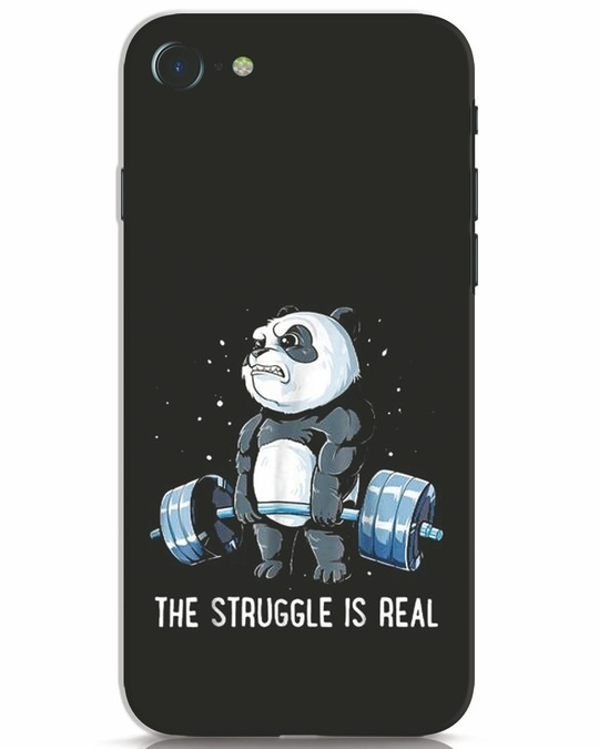 Shop Real Struggle iPhone 8 Mobile Cover-Front