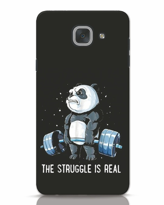 Shop Real Struggle Samsung Galaxy J7 Max Mobile Cover-Front