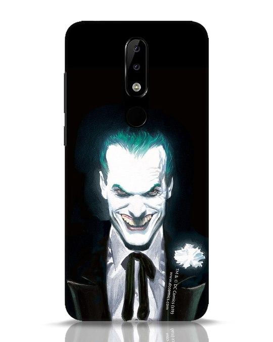 Shop Realistic Joker Nokia 5.1 Plus Mobile Cover (BML)-Front