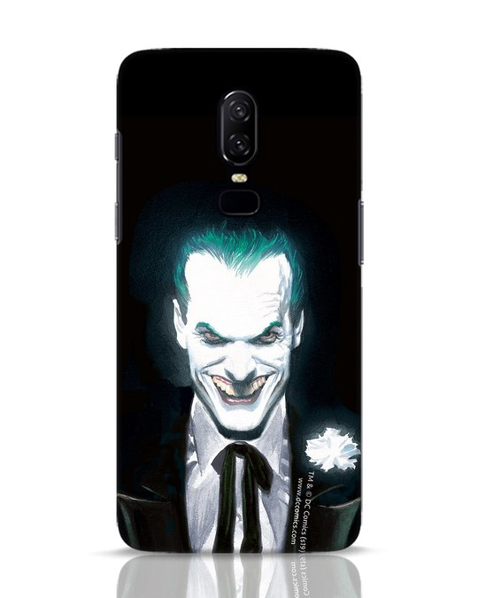 Shop Realistic Joker OnePlus 6 Mobile Cover (BML)-Front