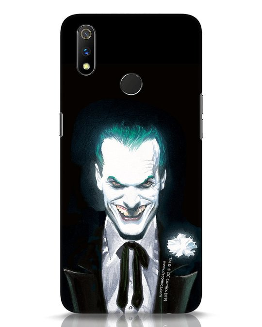 Shop Realistic Joker Realme 3 Pro Mobile Cover (BML)-Front