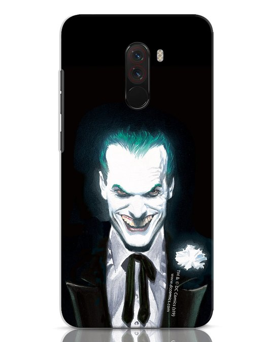 Shop Realistic Joker Xiaomi POCO F1 Mobile Cover (BML)-Front