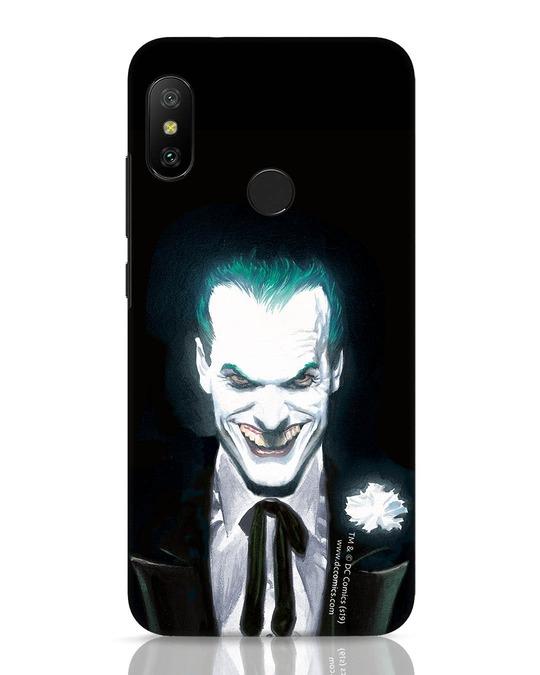 Shop Realistic Joker Xiaomi Redmi 6 Pro Mobile Cover (BML)-Front