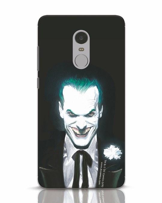 Shop Realistic Joker Xiaomi Redmi Note 4 Mobile Cover (BML)-Front