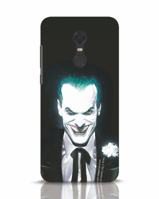 Shop Realistic Joker Xiaomi Redmi Note 5 Mobile Cover (BML)-Front
