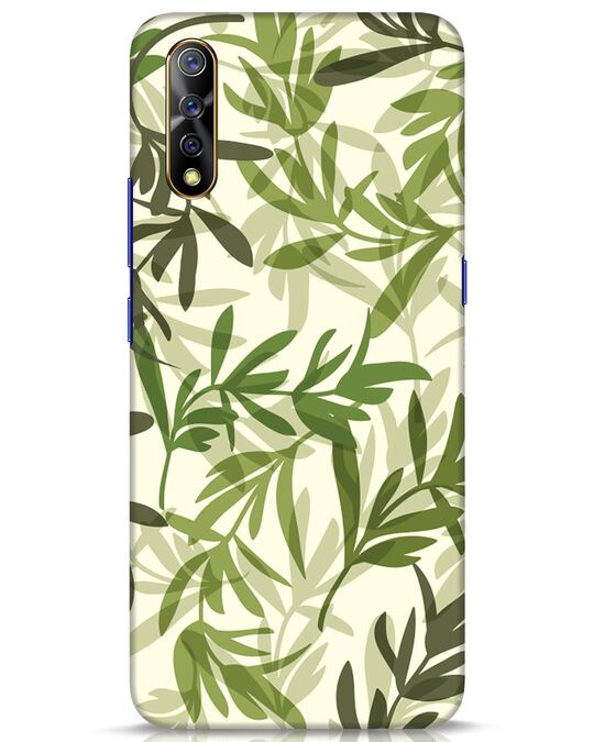Shop Realistic Leafs Vivo S1 Mobile Cover-Front
