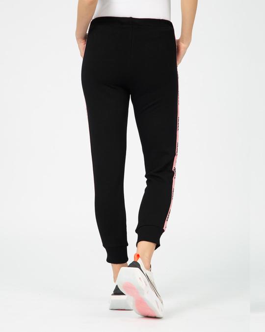 Shop Rebel Girl Fleece Sports Trim Joggers-Full