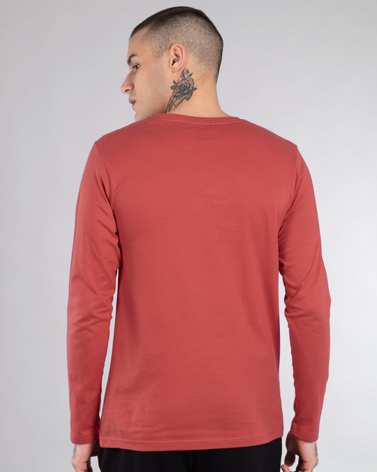 Shop Rebel Sight Full Sleeve T-Shirt-Back