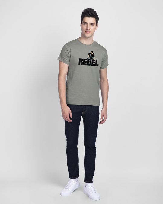 Shop Rebel Sight Half Sleeve T-Shirt-Design