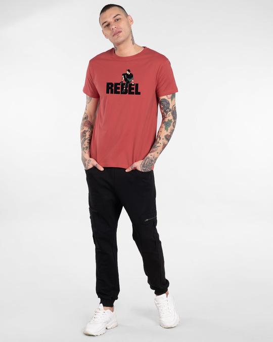 Shop Rebel Sight Half Sleeve T-Shirt-Design